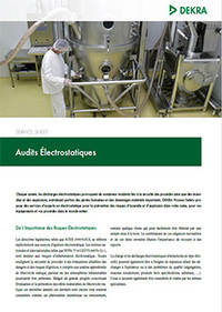 Electricit Statique Et ATEX DEKRA Process Safety