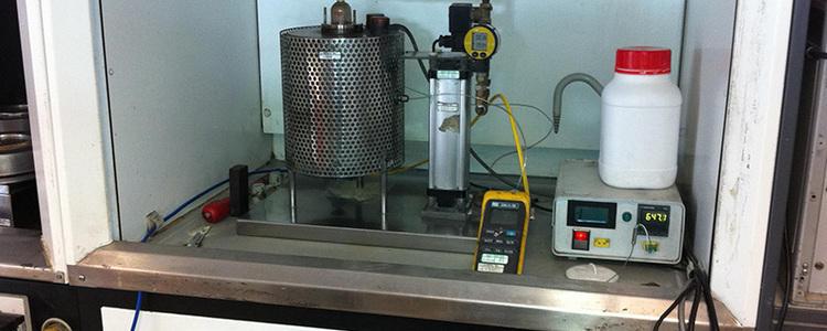 Test d'inflammabilité des poudres - Température minimale d'inflammation en couche de 5mm (TMI ou TAI)